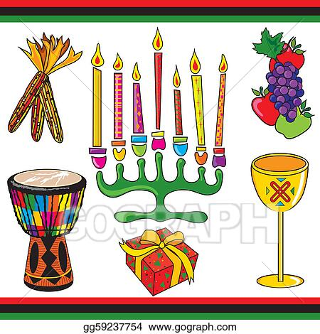 Stock Illustration - Kwanzaa clipart elements and icons ...