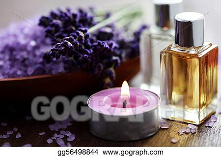 lavender bath salt and massage oil