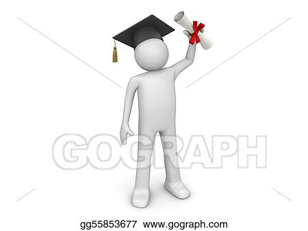 Lifestyle collection - Graduating student with diploma