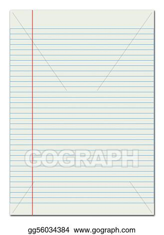 Editable Lined Paper Editable Notebook Paper Template Notebook