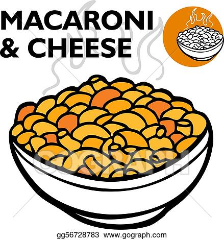 Macaroni And Cheese Clipart Black And White  clipartsgramcom
