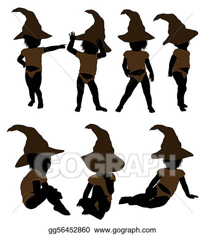 Male Hallowen Infant Toddler Illustration Silhouette