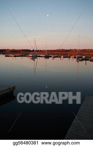 marina at Hecla in Manitoba