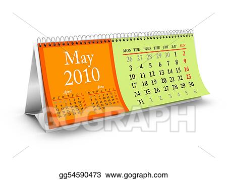 May 2010 Desktop Calendar