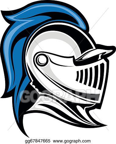 Vector Illustration - Medieval knight. Stock Clip Art ...