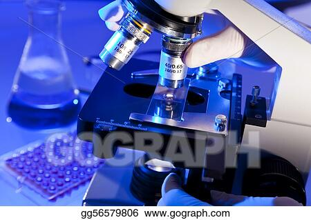 Microscope and Scientific Equipment in a Research Laboratory