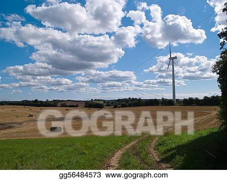 Modern alternative energy - horizontal image