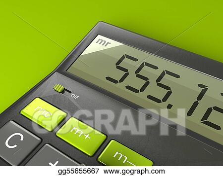 Modern Desktop Calculator with Big Display