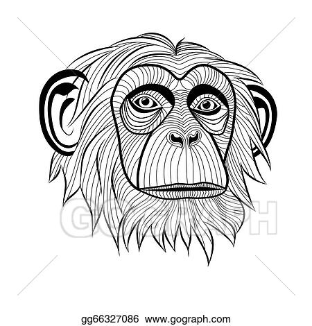 Stirring further Collectionbdwn Beautiful Drawings Of Mermaids furthermore Monkey Chimpanzee Head Gg66327086 furthermore Things To Go In My Journal also Dibujos Para Colorear De Rainbow Dash. on scary ape clip art