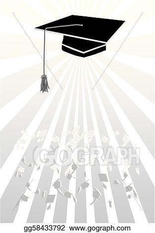 Mortar in graduation in grey