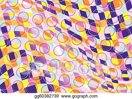 Mottled background of colored squar