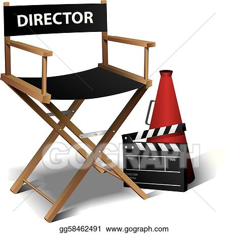 Movie director chair