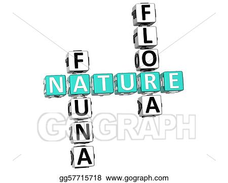 Nature Fauna Flora Crossword