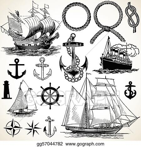 Nautical Icon Set