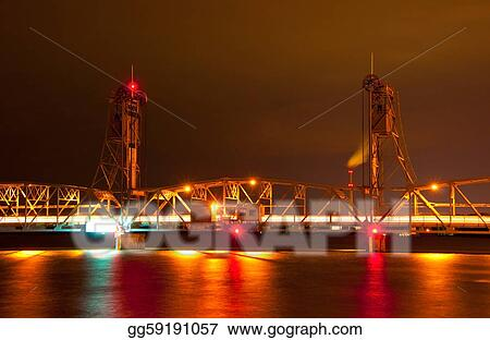 Nighttime Liftbridge