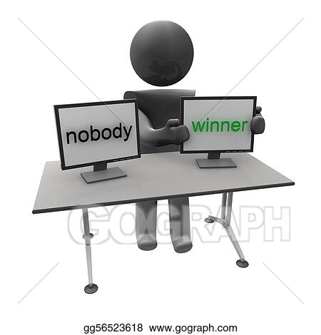 nobody to winner
