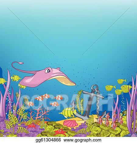 Ocean Underwater Carto...