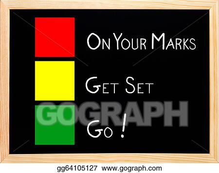 the gallery for gt on your mark get set go clipart