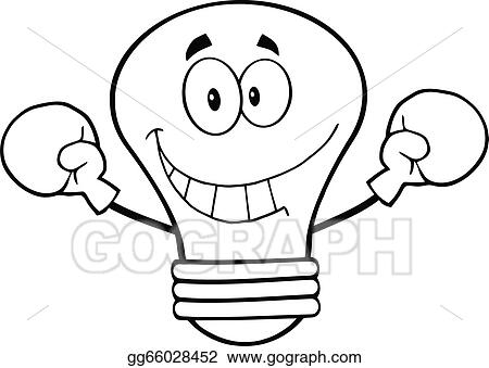 Outlined Light Bulb Boxer Gg66028452