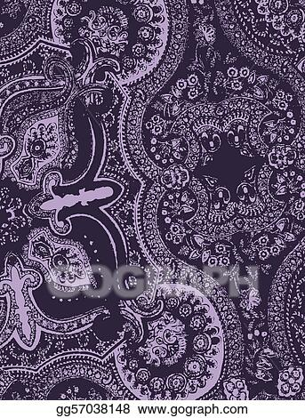 paisley lace graphic design