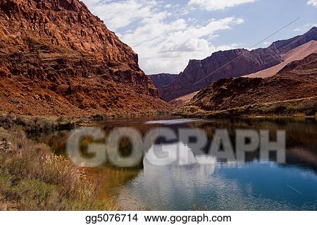 Peaceful Colorado River