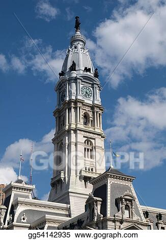 Philadelphia City Hall Clock Tower