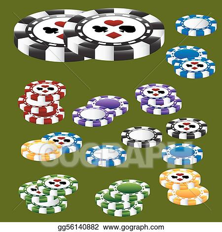 Poker Chip Card Suits