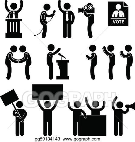 Clip Art Political Clipart politics clip art royalty free gograph politician reporter election vote