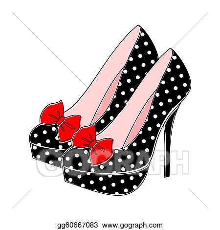 Clip Art High Heels Clipart high heels clip art royalty free gograph polka dot heels