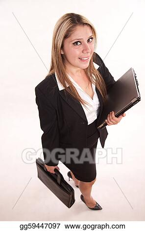 Pretty attractive twenties hispanic business woman professional