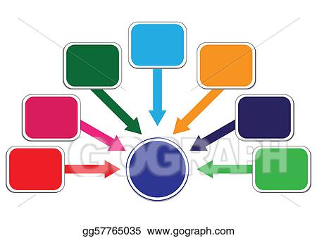 Profit and Wealth Distribution Illustration in Vector
