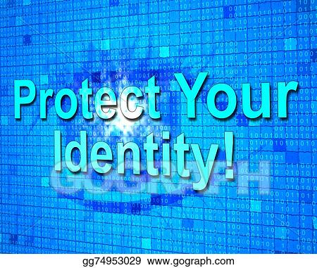Clip Art Protect Your Identity