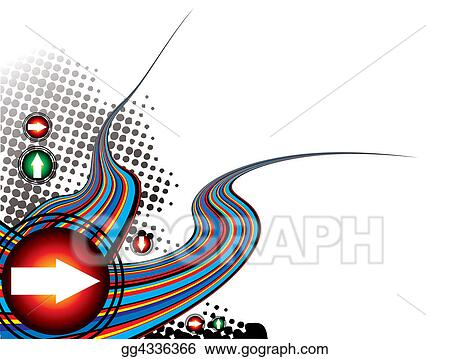 clipart rainbow effect modern stock illustration gg4336366 gograph Tidal Wave Clip Art Wave Outline Clip Art
