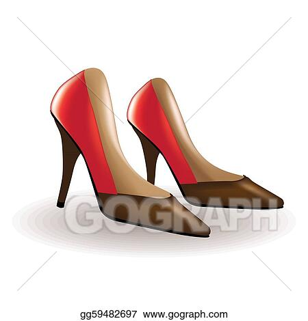 Luxury Collection Of Women Shoes  Stock Illustration 6799575