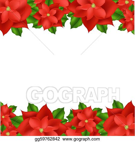Clip Art Poinsettia Clip Art poinsettia clip art royalty free gograph red border