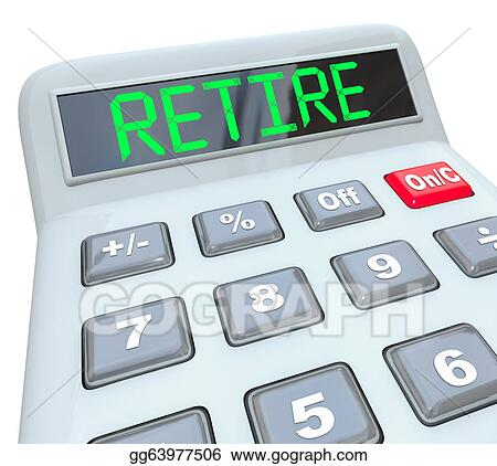 Drawings - Retire - Plan Your Retirement Savings Calculator. Stock
