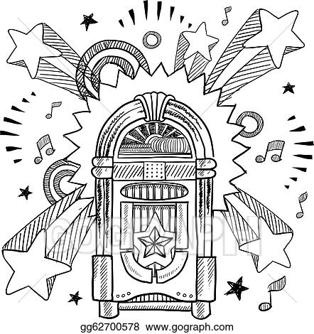 Retro Jukebox Sketch Gg62700578 together with Troubleshooting headlights furthermore Search also 2007 Ford F150 Cylinder Order as well Jukebox Border Clipart. on black juke