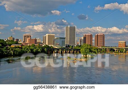 Richmond, Virginia Cityscape.