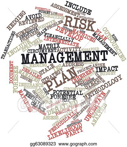 Stock Illustrations Risk management plan Clipart – Risk Management Plan