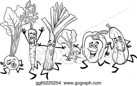 Perfect Vegetable Soup Coloring Pages Printable For Kids With Of Fruits And Vegetables