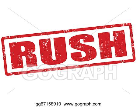 Rush stampRush Delivery Stamp