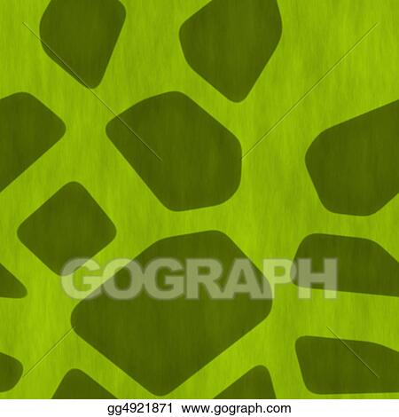 Stock Illustration - A Safari Jungle Themed Seamless Background ...