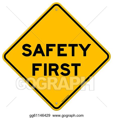 Clip Art Safe Clipart safe driving clip art royalty free gograph slow sign safety first symbol