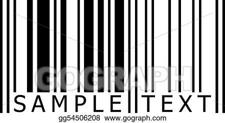 Sample text barcode