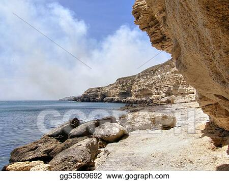 sea coast. Crimea.