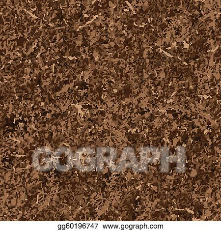 Stock Illustration - Seamless background of soil textures ...