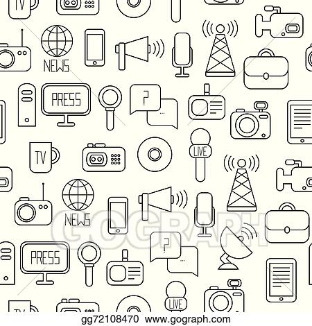 Seamless Pattern Of Of Flat Colorful Vector Journalism Icons Mass Media  munication Illustration Consists Of  puter News Reporter Camera Microphone Radio Infographics Design Web Elements Background Gg72108470 furthermore Search Vectors together with Advocacy Action additionally Black And White Cartoon Microphone Mascot Character With A Megaphone 400305 in addition Item SAMVP10X. on clip on microphone for computer