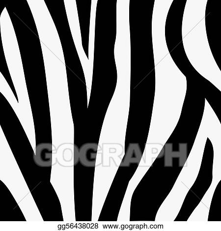 Seamless tiling zebra animal print pattern
