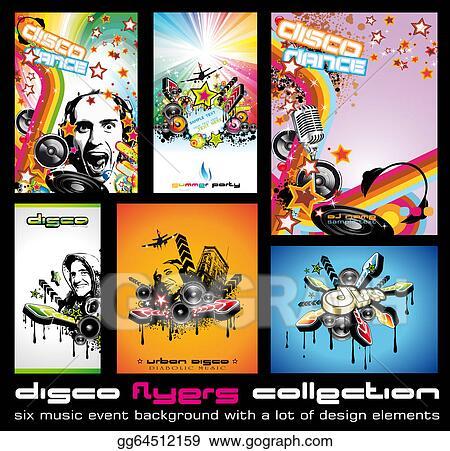 disc jockey flyers