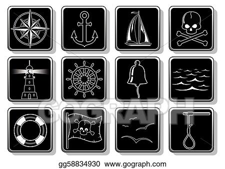 Set of Nautical Icons